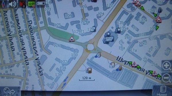 Навител карта Тюмень кольцо Широтная Мельникайте speedcam пешеходный переход лежачий полицейский
