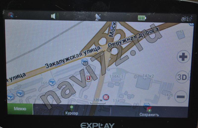 Официальная карта Навител 2013 Q3 Тюмень развязка Московского тракт Закалужская