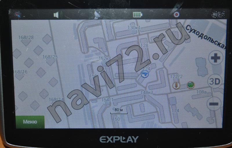 Официальная карта Навител 2013 Q3 Тюмень Ростовцева ЖК Суходолье