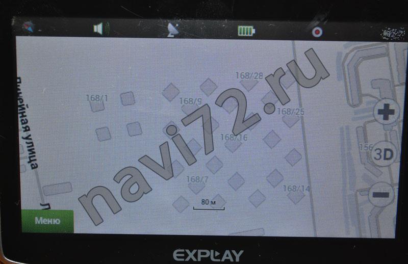 Официальная карта Навител 2013 Q3 Тюмень ЖК Суходолье Линейная