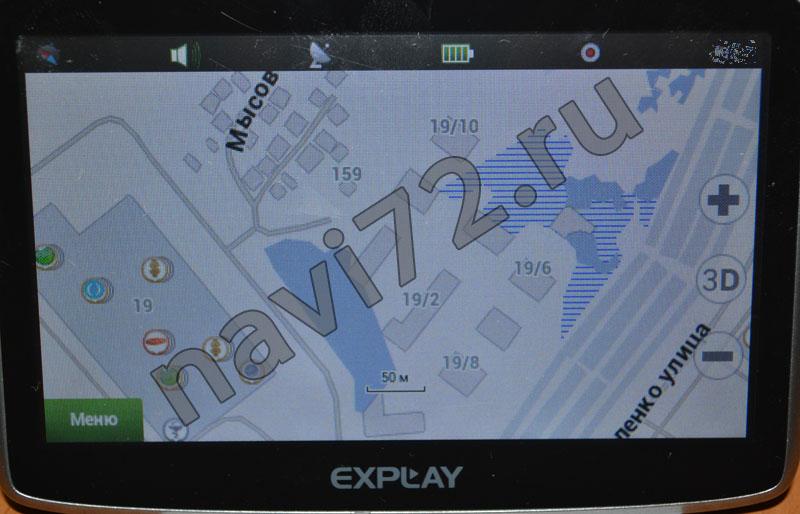 Официальная карта Навител 2013 Q3 Тюмень ЖК Европейский Зеленый Берег Эрьве