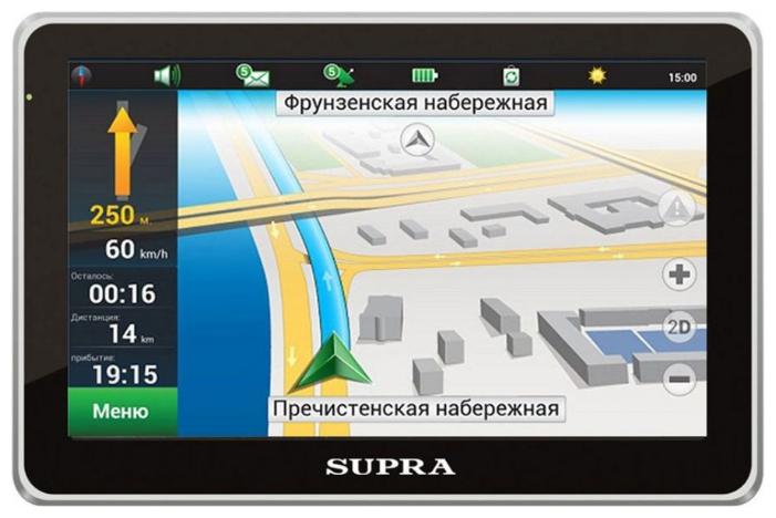 Автомобильный навигатор Supra SNP-502