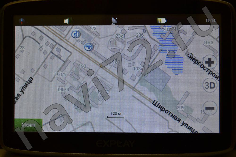 Официальная карта Навител 2014 Q1 Тюмень Широтная Энергостроителей Гипермаркет Окей