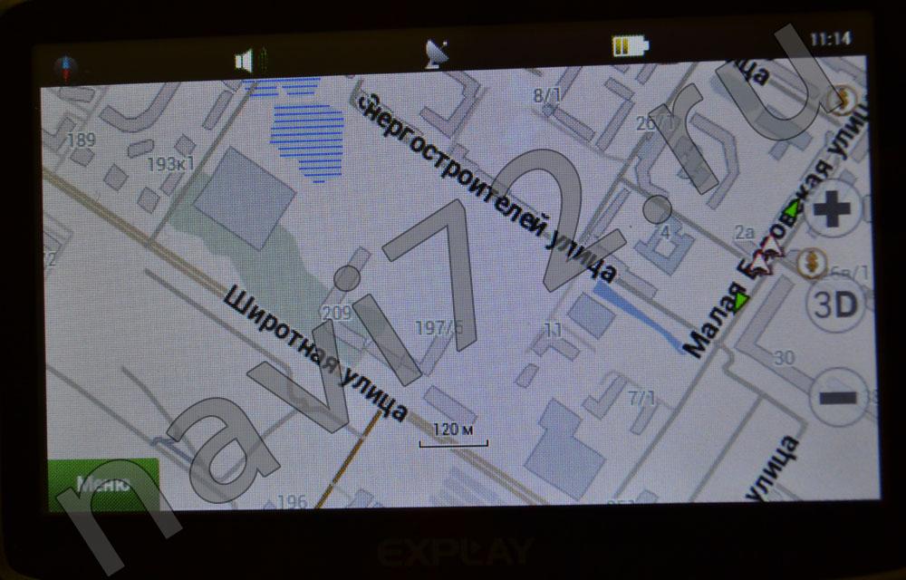 Официальная карта Навител 2014 Q1 Тюмень Широтная Энергостроителей Гипермаркет Окей Малая Боровская