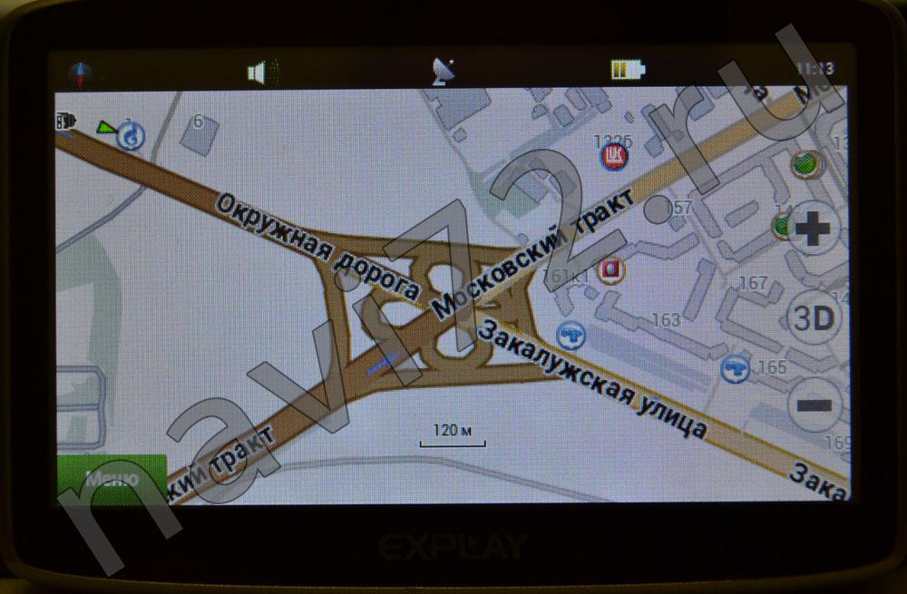 Официальная карта Навител 2014 Q1 Тюмень Окружная дорога Закалужская Московский Тракт