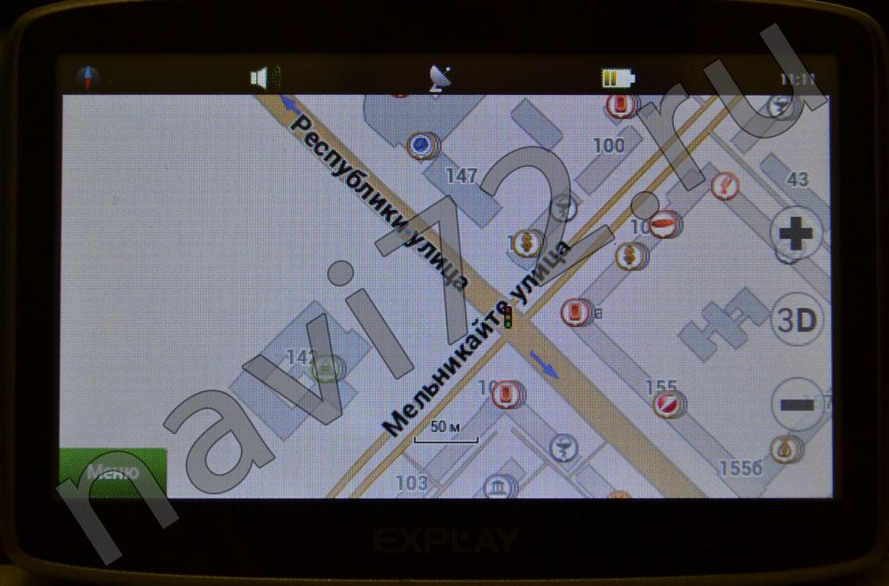 Официальная карта Навител 2014 Q1 Тюмень Республики Мельникайте