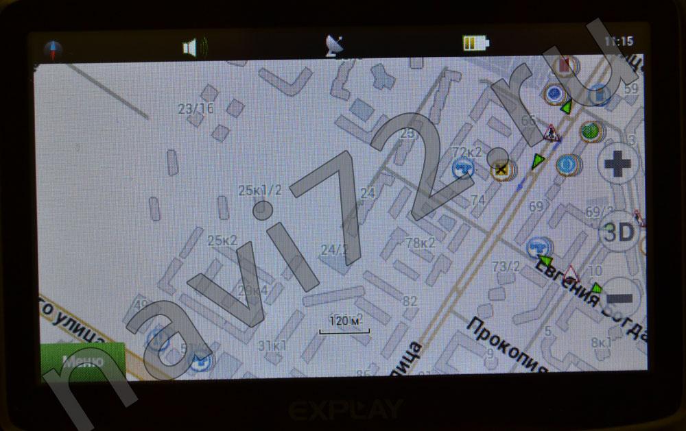Официальная карта Навител 2014 Q1 Тюмень Зелинского Мельникайте